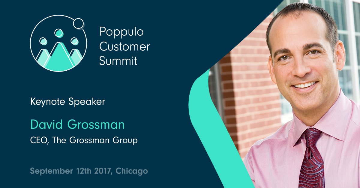 David Grossman - Poppulo Customer Summit Keynote Speaker