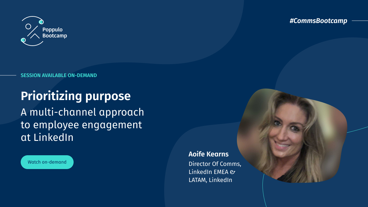 Prioritizing Purpose: A multi-channel approach to employee engagement at LinkedIn